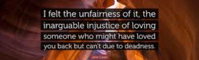 Life is Unfair . ..